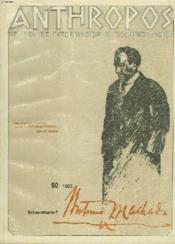 Anthropos, Revista De Informacion Y Documantacion N°50, Extraordinario-7, 1985. Antonio Marchado : Poeta In Exilio. - Couverture - Format classique
