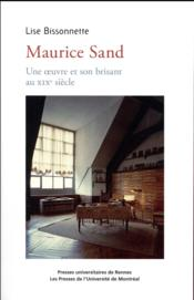 Maurice Sand - Couverture - Format classique