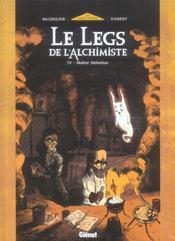 Le legs de l'alchimiste t.4 ; maitre Helvetius - Intérieur - Format classique
