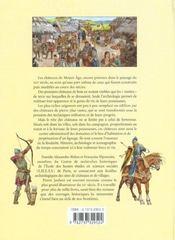 La France Des Chateaux Forts - 4ème de couverture - Format classique