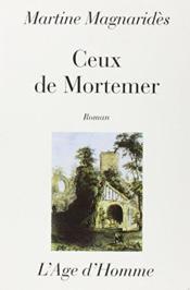 Ceux De Mortemer - Couverture - Format classique