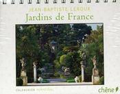 Calendrier perpetuel les plus beaux jardins de france - Intérieur - Format classique