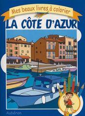 Mes beaux livres à colorier : la côte d'azur - Intérieur - Format classique
