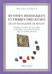 Rythmes Biologiques Et Pierres Precieuses - Intérieur - Format classique