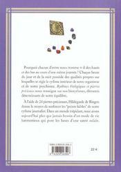 Rythmes Biologiques Et Pierres Precieuses - 4ème de couverture - Format classique