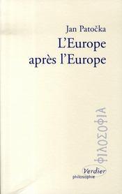 L'europe après l'europe - Intérieur - Format classique