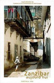 Zanzibar aujourd'hui - Couverture - Format classique
