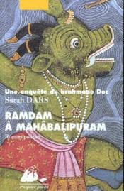 Ramdam à Mahâballipuram - Couverture - Format classique