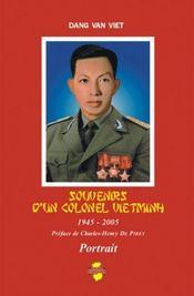 Souvenirs d'un colonel vietminh - Intérieur - Format classique