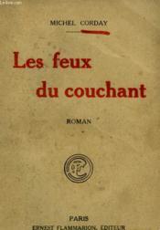 Les Feux Du Couchant. - Couverture - Format classique