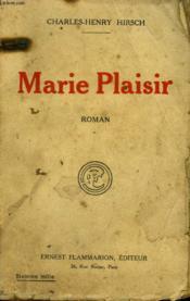 Marie Plaisir. - Couverture - Format classique