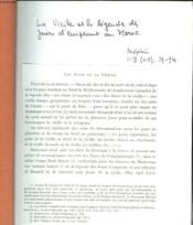 La Vieille Et La Legende Des Jours D'Emprunt Au Maroc. - Couverture - Format classique