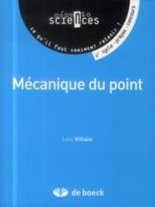 Vente  Mécanique du point  - Loic Villain
