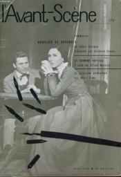 L'AVANT-SCENE - FEMINA-THEATRE N° 179 - HUMILIES et DEFENSES de ANDRE CHARPAK présentée par CLAUDINE CHONEZ - Couverture - Format classique