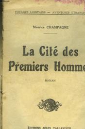 La Cite Des Premiers Hommes - Couverture - Format classique