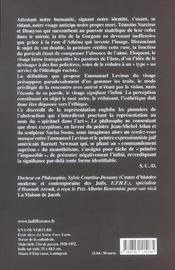 Visage En Question (Le ) - 4ème de couverture - Format classique