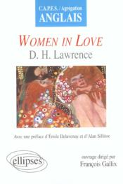 Women In Love D.H.Lawrence Capes/Agregation Anglais - Couverture - Format classique