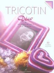 Tricotin ; déco et accessoires de mode - Intérieur - Format classique