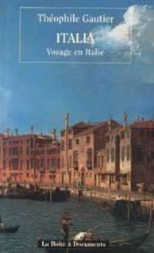 Italia, Voyage En Italie - Couverture - Format classique