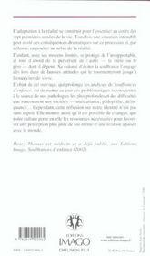 Les Refus De La Realite ; Notre Identite En Souffrance - 4ème de couverture - Format classique