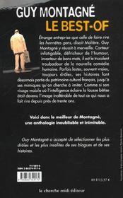 Guy Montagne Le Best-Of - 4ème de couverture - Format classique