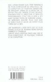 Liberte Sous Condition - Rn N 1 - 4ème de couverture - Format classique