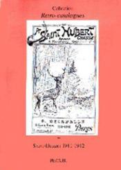 Saint-Hubert 1911-1912 - Couverture - Format classique