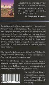 Le jeu des coquilles de nautilus - 4ème de couverture - Format classique