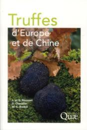 Truffes d'Europe et de Chine - Couverture - Format classique