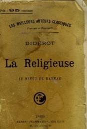 La Religieuse. Le Neveu De Rameau. - Couverture - Format classique