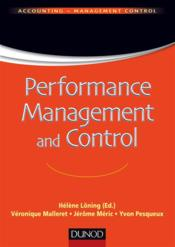 Vente  Performance management and control  - Helene Loning - Yvon Pesqueux - Veronique Malleret - Jerome Meric