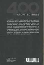 Boutiques Et Showrooms - 4ème de couverture - Format classique