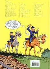 Les tuniques bleues t.5 ; les déserteurs - 4ème de couverture - Format classique