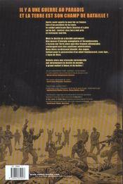Sur la terre comme au ciel t.1 - 4ème de couverture - Format classique