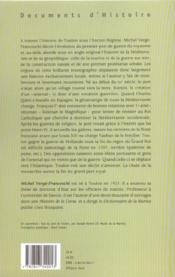 Toulon, port royal (1481-1789) - 4ème de couverture - Format classique