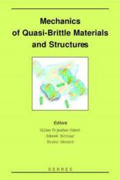 Mechanics of quasibrittle materials andstructures - Couverture - Format classique