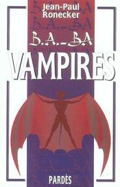 Vampires - Intérieur - Format classique