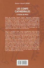 Corps Cathedrales - A Fleur De Peau - 4ème de couverture - Format classique