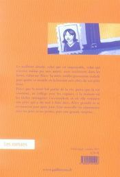 Un Kilo D'Oranges - 4ème de couverture - Format classique