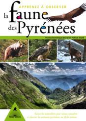 Apprenez A Observer La Faune Des Pyrenees - Couverture - Format classique