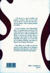 Une histoire de corde - 4ème de couverture - Format classique