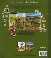 En Place Les Indiens - 4ème de couverture - Format classique