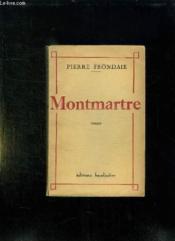 Montmartre. - Couverture - Format classique
