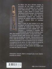 La Passion De L'Origine Essai Sur La Genealogie Des Arts Premiers - 4ème de couverture - Format classique