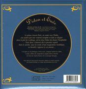 Didon et énée - 4ème de couverture - Format classique