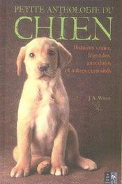 Petite anthologie du chien - Intérieur - Format classique