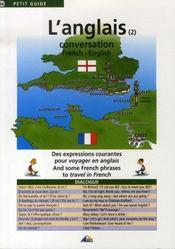 Petit Guide T.54 ; L'Anglais T.2 ; Conversation - Intérieur - Format classique