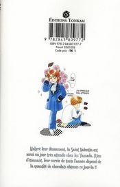 Le fabuleux destin de Taro Yamada t.2 - 4ème de couverture - Format classique