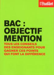 Bac : objectif mention  - Collectif