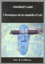Chronique De La Citadelle D'Exil - Couverture - Format classique